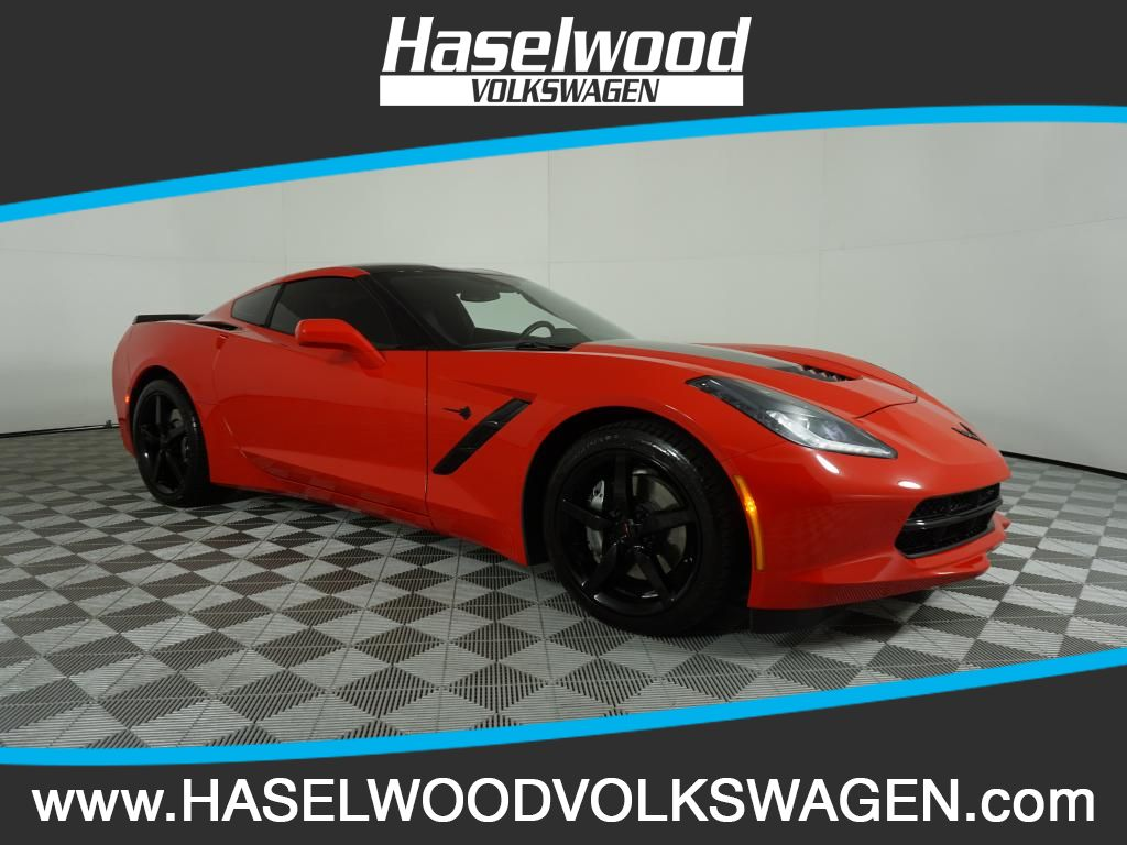 Pre-Owned 2014 Chevrolet Corvette 1LT