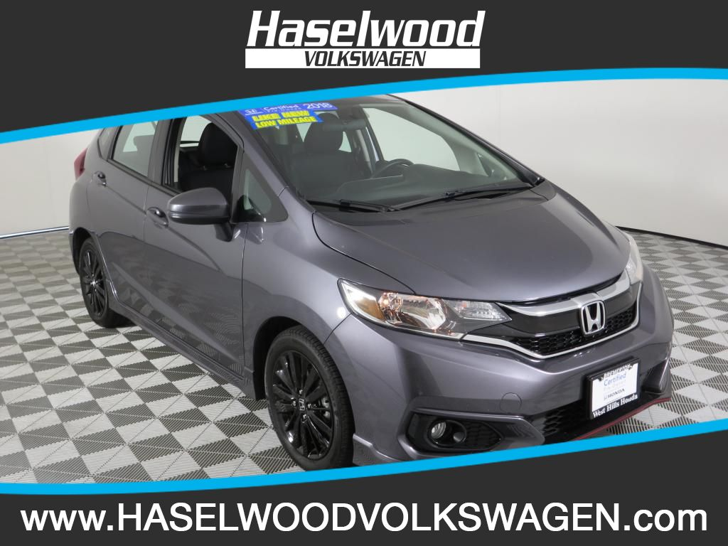 Pre-Owned 2019 Honda Fit Sport