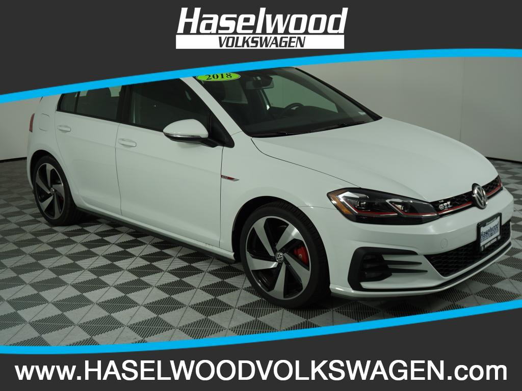 New 2018 Volkswagen Golf GTI SE 2 0T 4 Door DSG in Bremerton VW0659