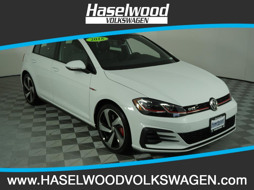 New 2018 Volkswagen Golf GTI SE 2 0T 4 Door DSG in Bremerton VW0678