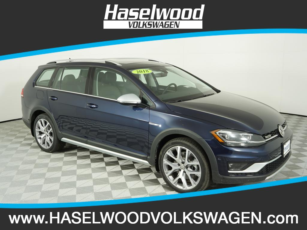 New 2018 Volkswagen Golf Alltrack SEL 1 8T DSG in Bremerton VW0699