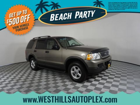 Pre-Owned 2003 Ford Explorer XLT